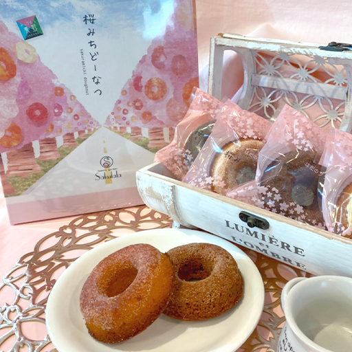 サクララの焼き菓子 桜みちどーなつ